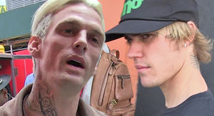 Aaron Carter Says He's the Original Justin Bieber, But Gets No Respect