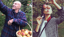 Fall For These Apple Picking Celebs ... Hard Core!
