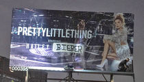 Hailey Baldwin Tagged as Mrs. Justin Bieber on L.A. Billboard
