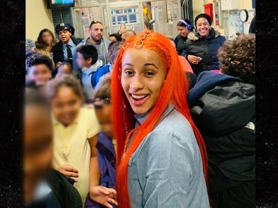 Cardi B Visits Old Elementary School, Reunites with 1st Grade Teacher