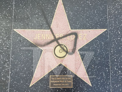 J Lo, 3 Other Walk of Fame Stars Vandalized, Surveillance Vid Key in Investigation