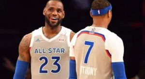 Could Carmelo Anthony Join Lakers? LeBron James Dances Around Idea