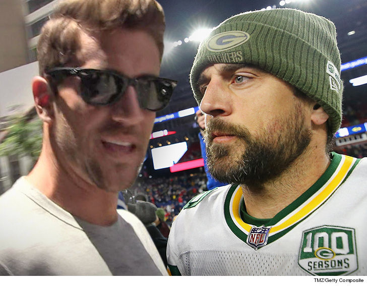 Aaron Rodgers Announces He's Donating $1 Million to Wildfire Recovery Efforts