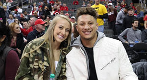 Patrick Mahomes Getting Over Rams Loss With Smokin' Hot Girlfriend