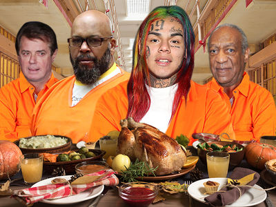 Celeb Convicts' 2018 Thanksgiving Prison Meals Revealed