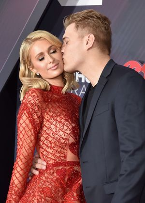 Paris Hilton and Chris Zylka Together