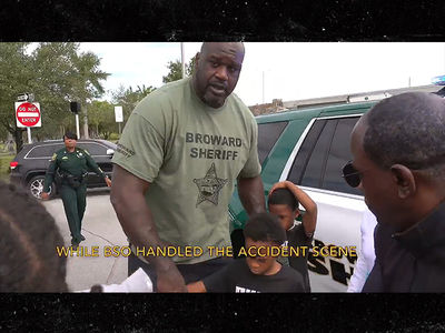 Shaq to the Rescue After Witnessing Family Involved in Car Crash