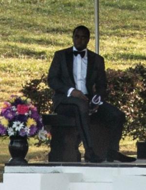 Kim Porter's Funeral Procession