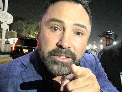 Oscar De La Hoya on Chuck Liddell Knockout, 'Surprised But Not Shocked'