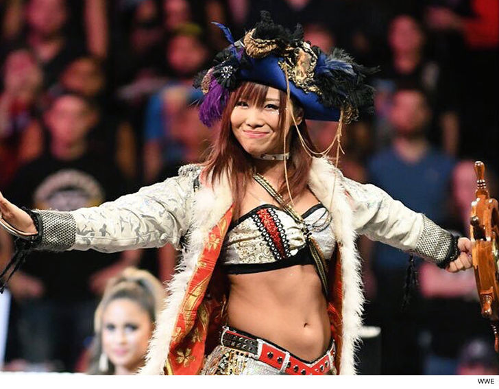 Wwe Superstar Kairi Sane Former Nxt Womens Champ Says Shes Debating Whether Or Not To Go To The Hospital After Coming Down With A Case Of