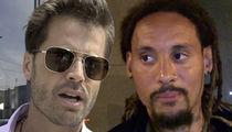 David Charvet Claims Jermaine Jones Stalked, Threatened Him with AR-15 Gun