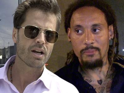 David Charvet Claims Jermaine Jones Stalked, Threatened Him with AR-15 Gun