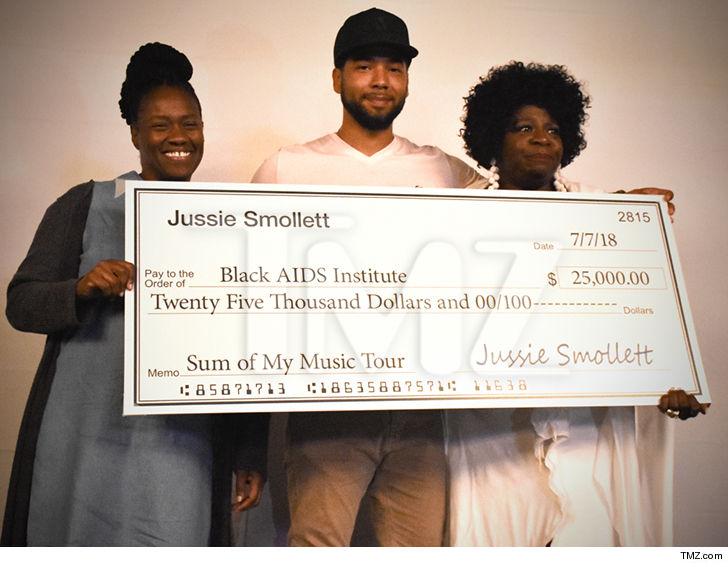 Empire Star Jussie Smollett Donating Over 125000 To Charities