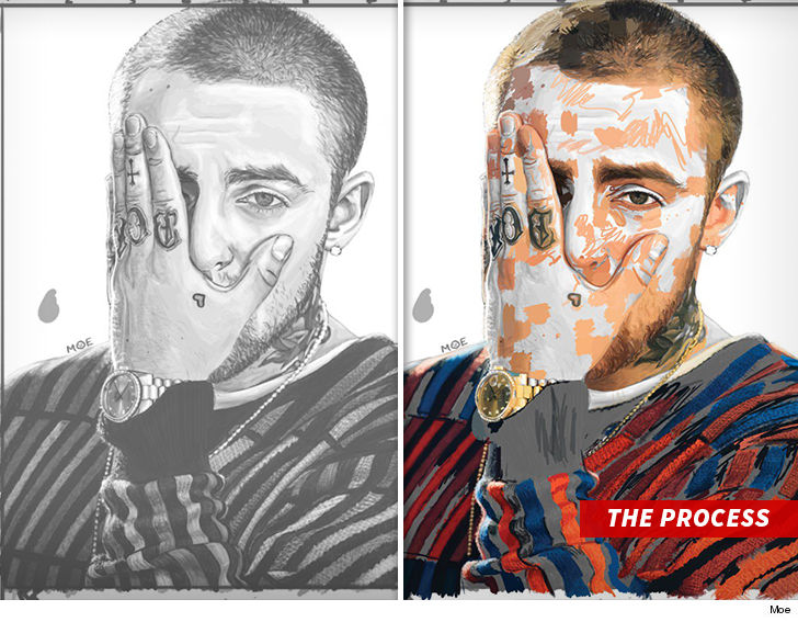 Mac Miller Drawing Goes Viral As Fans Quickly Snatch Them