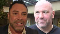 Oscar De La Hoya Fires Back at Dana White, 'Shut the F*ck Up'