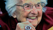 Sister Jean Gets Final Four Bling, Big Diamond Ring!!