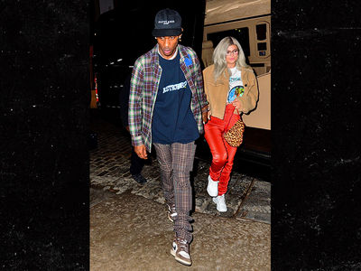 Kylie Jenner Hangs with Travis Scott After His Concert, Which Stormi Really Enjoyed