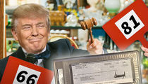 Donald Trump's Personal Check For Baseball Memorabilia Hits Auction Block