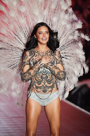 Adriana Lima's Victoria Secret Fashion Show Looks