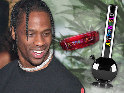 Travis Scott Looking to Cash in on 'Astroworld' Smoking Accessories