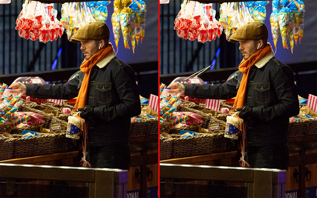 Can you spot the THREE differences in these David Beckham photos?