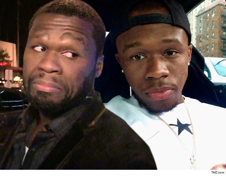 50 cents hopes to have his son hit by a bus