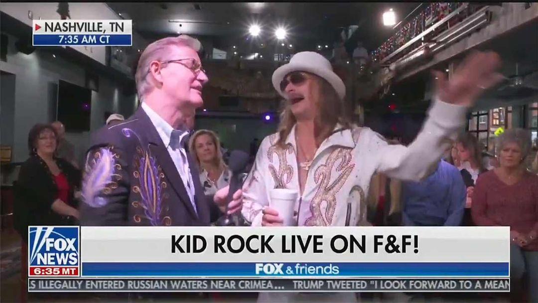 cadf61d1fc1e3 Kid Rock Says  Screw That Joy Behar Bitch  on FOX News