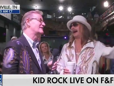 Kid Rock Says 'Screw That Joy Behar Bitch' on FOX News, Behar Responds