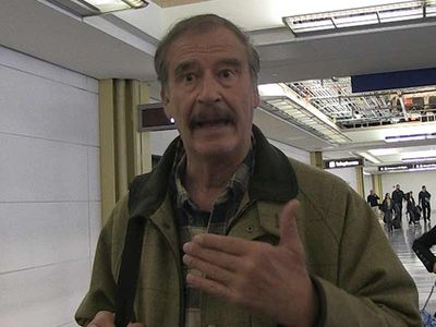 Ex-Mexico Prez Vicente Fox Says There's Blame to Go Around in Border Crisis
