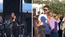 Robin Thicke Kicks Things Off at 'One Love' Malibu Benefit Concert