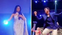 Nick Jonas and Priyanka Chopra's Families Compete in Song and Dance Party