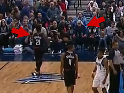 NBA's Patrick Beverley Fined $25k for Throwing Ball at Heckler