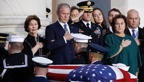 George H.W. Bush's State Funeral Draws White House, Congress and SCOTUS Luminaries