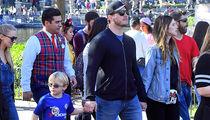 Chris Pratt & Katherine Schwarzenegger Take His Son, Jack, to Disneyland