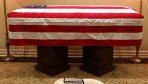 George H.W. Bush's Service Dog Sully Flying With Casket, Won't Go To Memorial Service