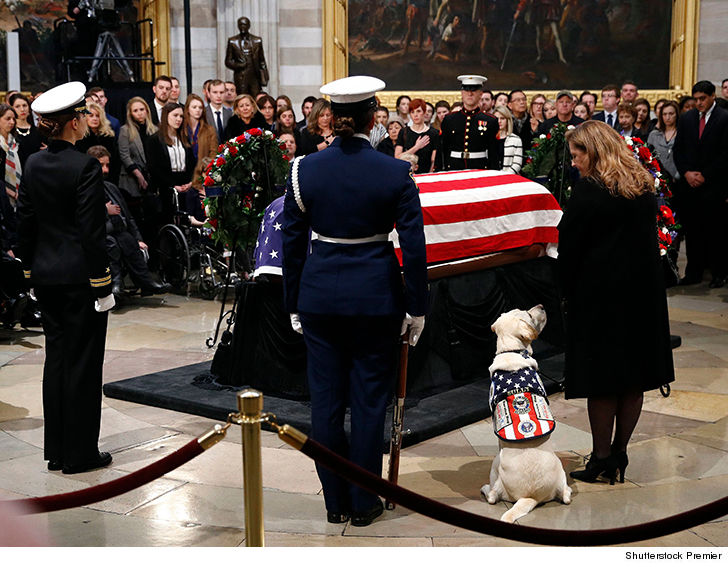 Jenna Bush Hager recites bible verse at George H.W. Bush's funeral