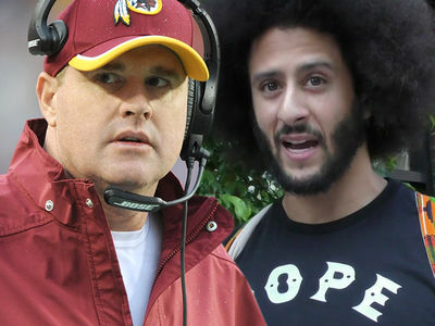 Jay Gruden Says Redskins Considering Signing Colin Kaepernick, But Likely Won't