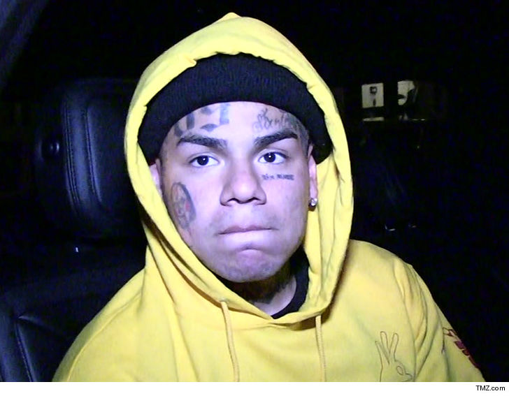 Tekashi69's child sex case is over, because the judge says 6ix9ine needs to answer to the feds in his racketeering case.