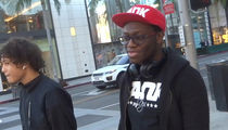 Deji Wants Jake Paul Rematch 'But He's Too P***y to Fight Me Again!'