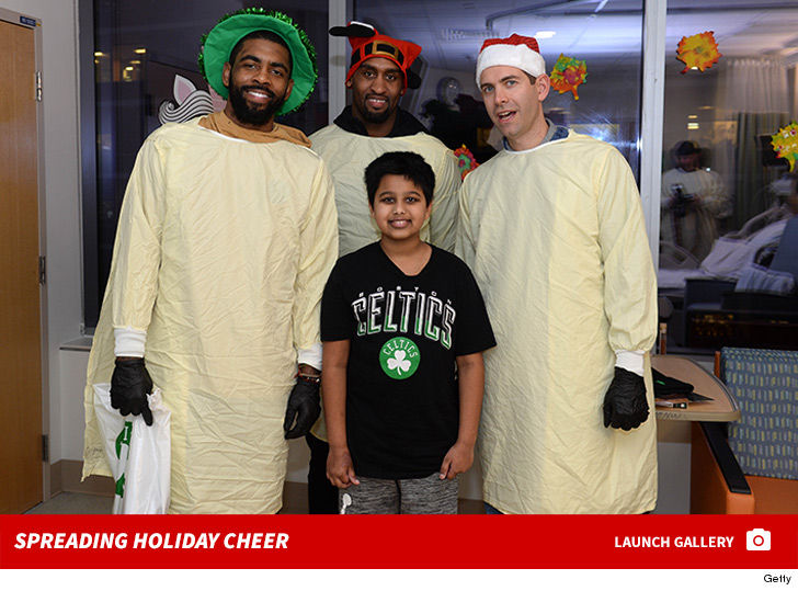 75cbb78e0b832 Kyrie Irving Roasted By Kid at Children s Hospital