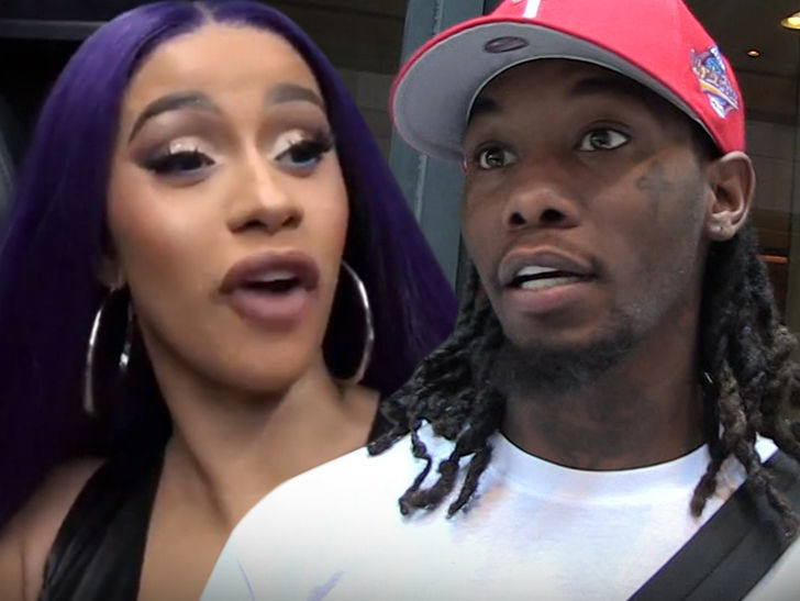 Cardi B Announced Offset Split 2 Days After Alleged Texts Imply He was Cheating