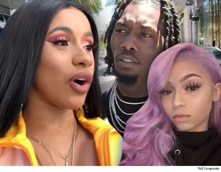 Cardi B Split With Offset Because He Was Chatting Up Female Rapper
