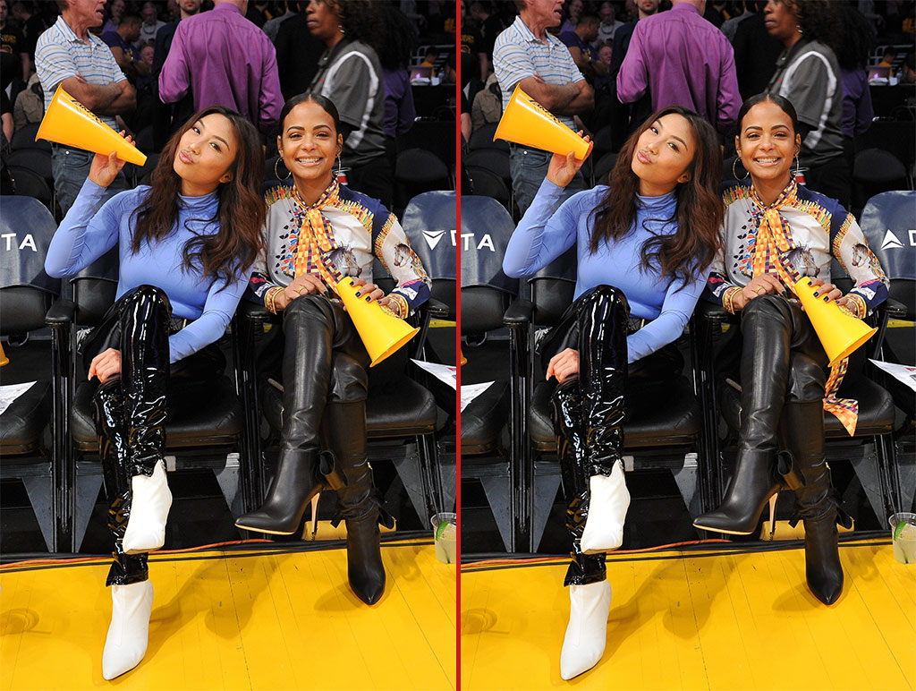 Can you spot the THREE differences in these Christina Milian photos?