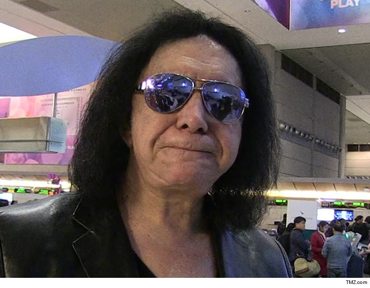 Kiss' Gene Simmons accused of sexual battery