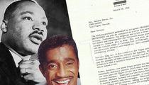 Martin Luther King Jr.'s Thank-You Letter to Sammy Davis Jr. Up for Sale