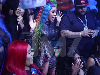 Cardi B is Doing Fine After Breakup with Offset, Gets Down in Miami