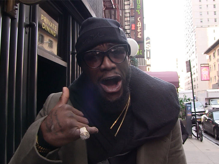 Deontay Wilder Eyeing Role in 'Creed III' as Clubber Lang's Kid