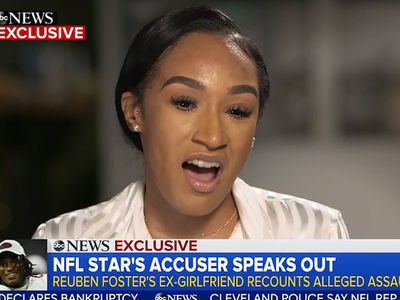 Reuben Foster's Ex-GF Claims 49ers Tried to Discredit Her During Dom. Violence Incident