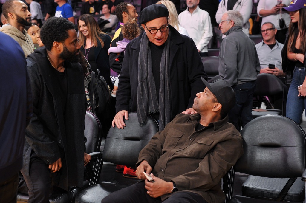 Andy Garcia and Denzel Washington