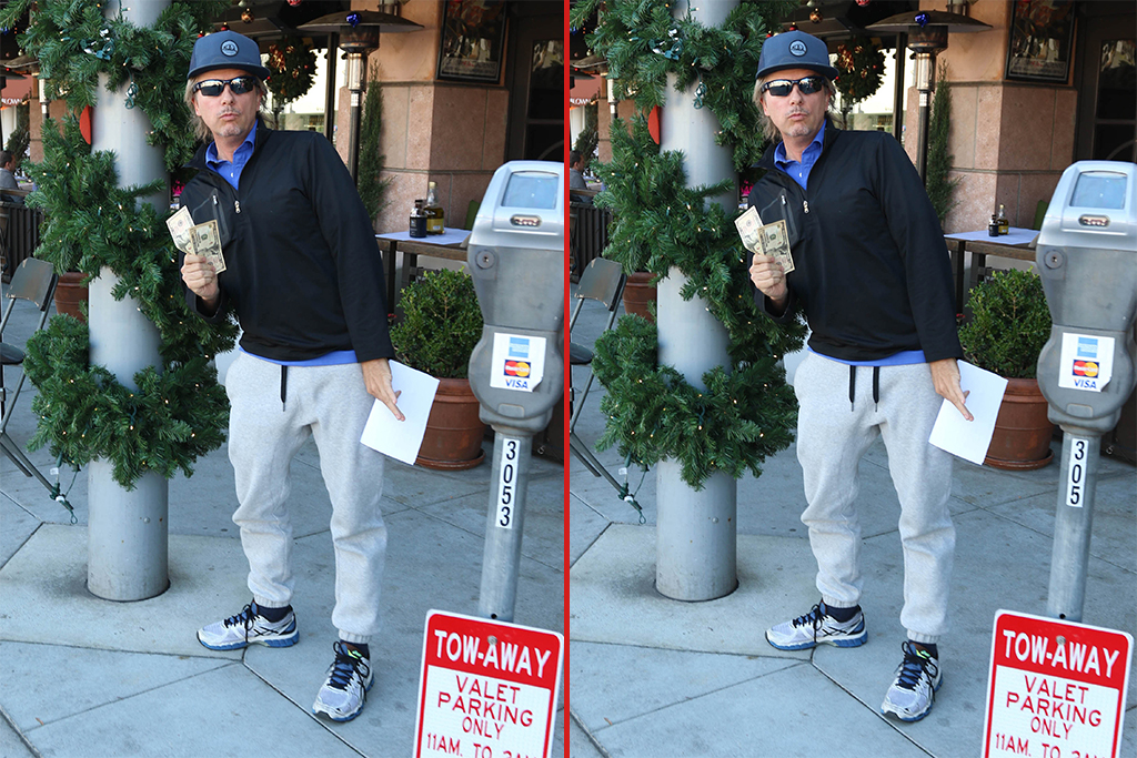 Can you spot the THREE differences in these David Spade photos?